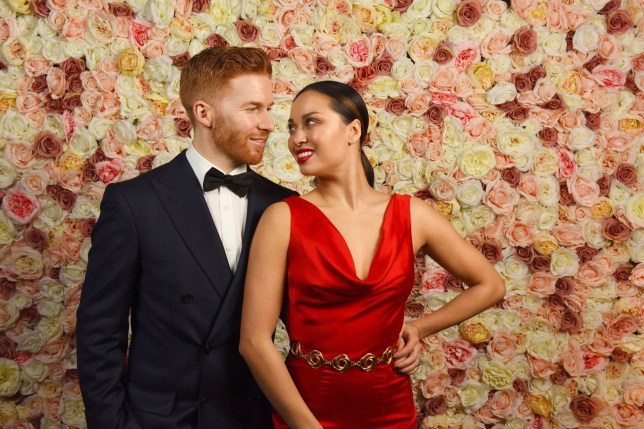 Mandatory Credit: Photo by Solent News/REX/Shutterstock (10003748d) Neil Jones, Katya Jones The Macmillan Ball at the Dorchester Hotel, London, UK - 28 Nov 2018