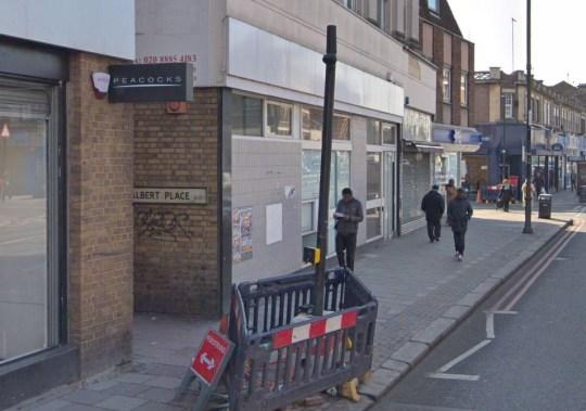 Murder in north London Albert Place, Tottenham