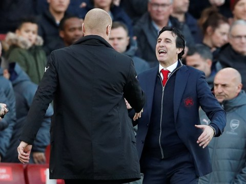 Arsenal manager Unai Emery hits back at Sean Dyche after touchline row