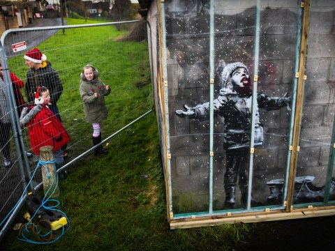 Steelworker sells Banksy mural on his garage for 'six-figure sum'
