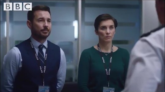 Ted Hastings looks very shifty in new Line Of Duty clip picture: BBC METROGRAB