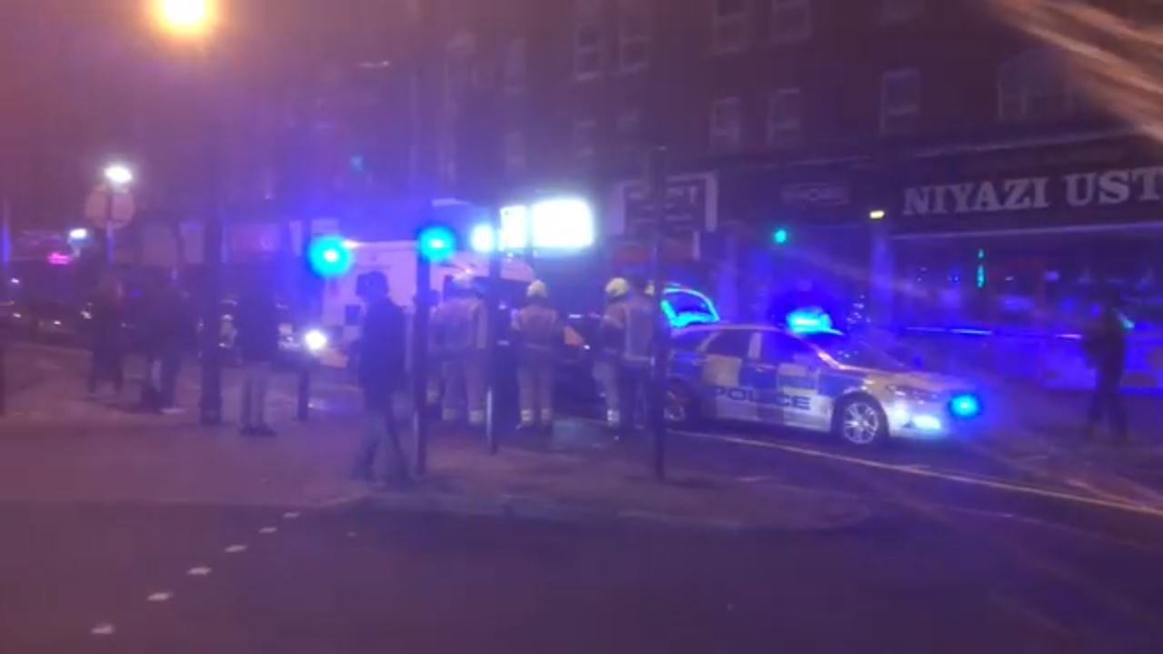 Man, 21, has corrosive liquid thrown in his face in north London