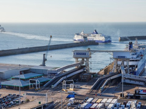 Government spends £108,000,000 on extra ferries to cope with no-deal Brexit
