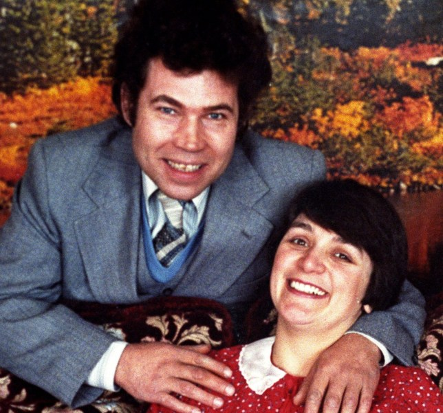 Serial killers Fred and Rosemary West.