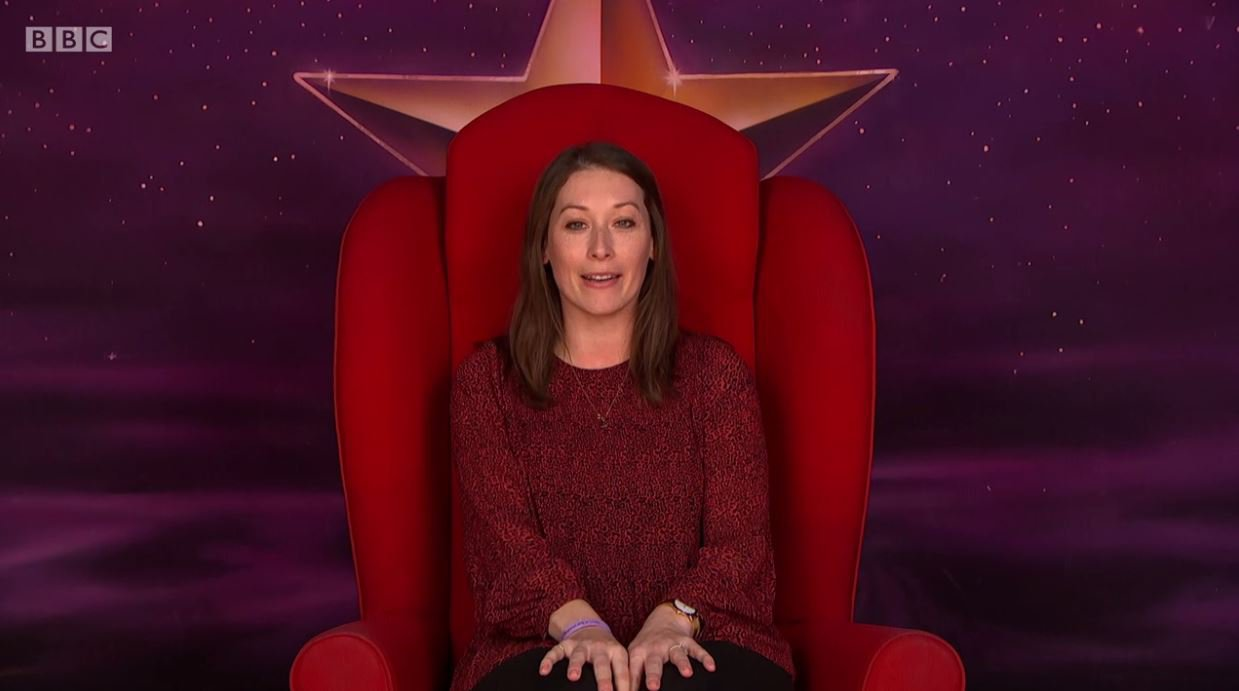 Want to sit on Graham Norton's red chair? The BBC warn you do so at your own peril