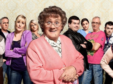What time is All Around To Mrs Brown's on and who are the celebrity guests?