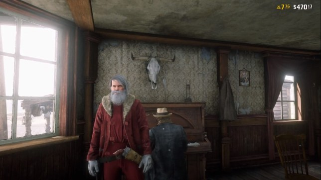 It's even Christmas in the Old West