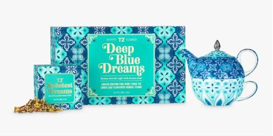 T2 Deep Blue Dreams tea gift set