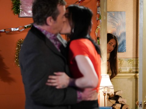 EastEnders spoilers: Alfie Moon and Hayley Slater are caught kissing