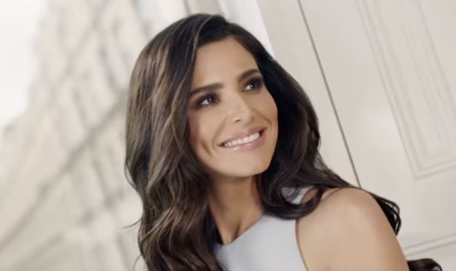 Cheryl in L'Oreal ad