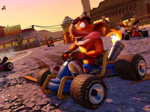 Crash Team Racing remaster Nitro-Fueled officially announced in new trailer