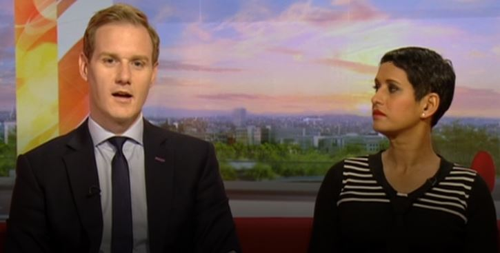 BBC Breakfast taken off air as a panicked Dan Walker cries out for 'someone to put the plug back in'