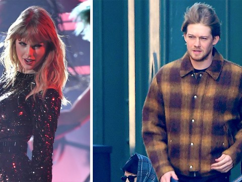 Lumberjack Joe Alwyn attempts to make stealth escape from Taylor Swift's apartment