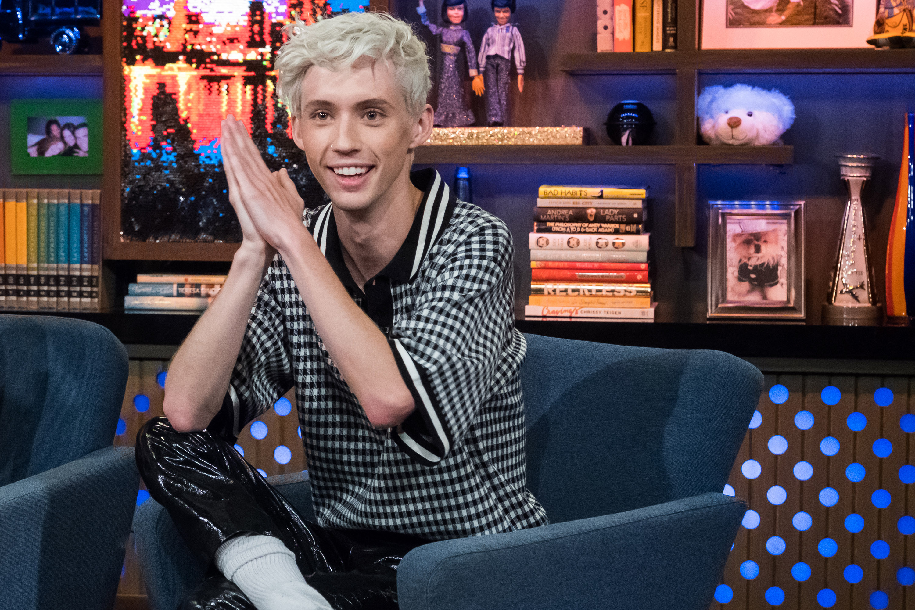 Troye Sivan is freaking out about his Golden Globe nomination