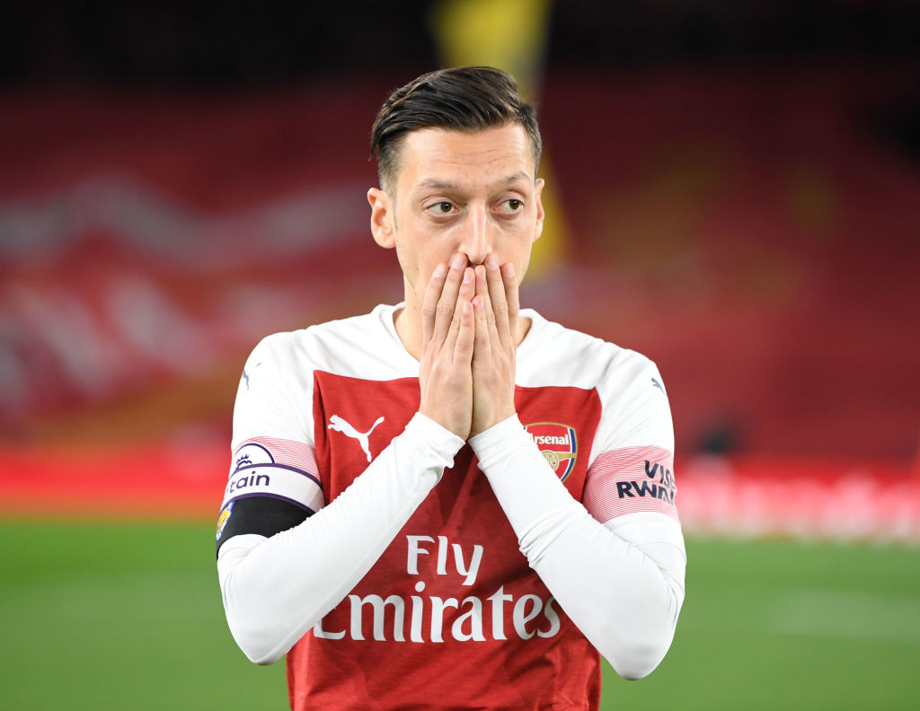 Unai Emery desperate to sell Mesut Ozil as his faith in Arsenal star is 'non-existent'