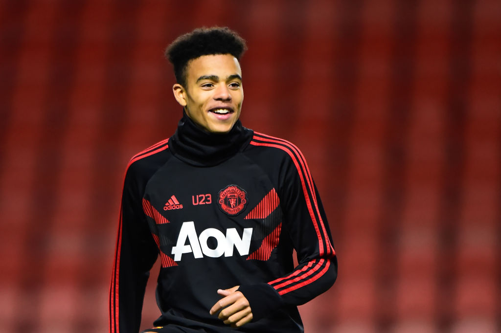 Teenage duo train with Manchester United first-team ahead of Valencia clash