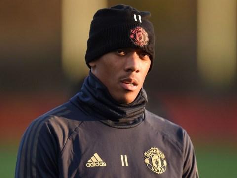 Jose Mourinho to start Manchester United forward Anthony Martial against Arsenal