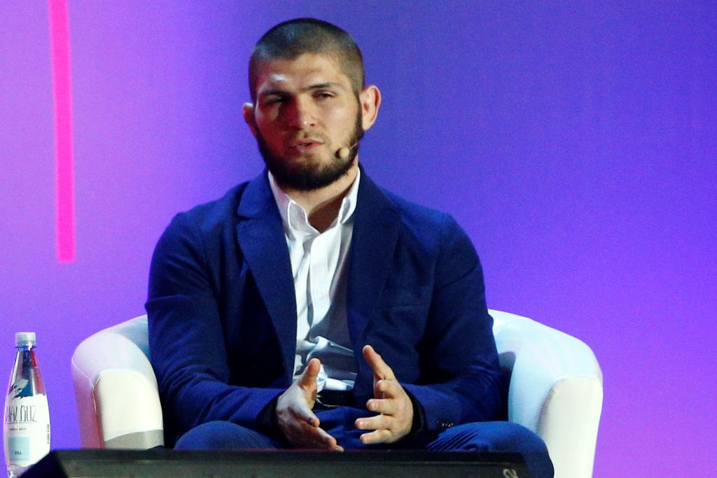 UFC star Khabib Nurmagomedov slammed for sexist advice to women who want to get into MMA