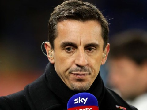 Gary Neville rates Manchester United's chances against Arsenal