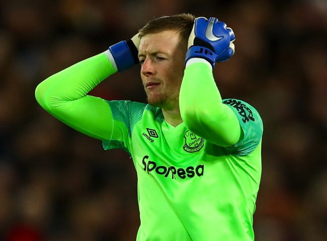 Everton goalkeeper Jordan Pickford explains 'freak' mistake against Liverpool