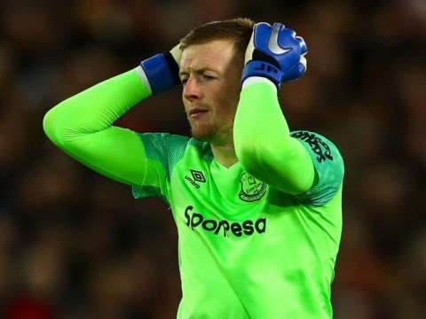 Everton goalkeeper Jordan Pickford explains 'freak' mistake against Liverpool