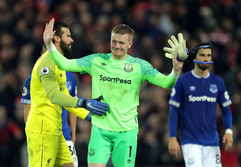 Jamie Carragher rips into Jordan Pickford after howler against Liverpool