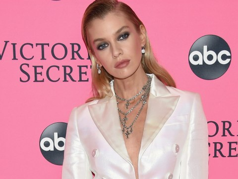 Victoria's Secret model Stella Maxwell gets massaged by snakes to 'relieve stress and pain'
