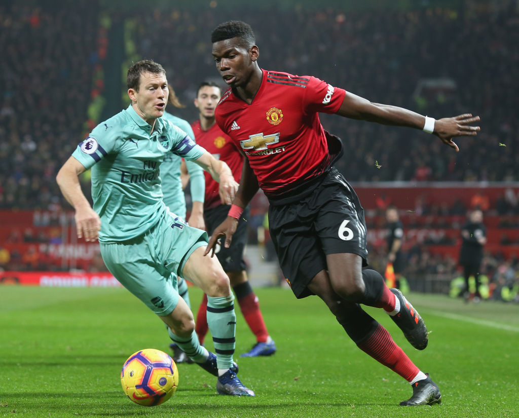 Jose Mourinho defends Paul Pogba after Manchester United's draw with Arsenal