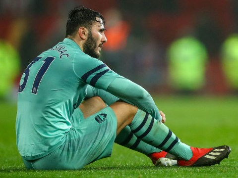 Sead Kolasinac reveals how Arsenal players reacted to his mistake against Manchester United