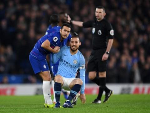 Pep Guardiola provides update on injured Man City trio David Silva, Sergio Aguero and Kevin De Bruyne