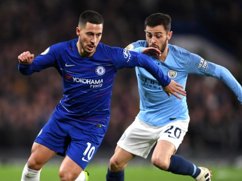 Eden Hazard speaks out on Maurizio Sarri's decision to play him as false 9 against Manchester City