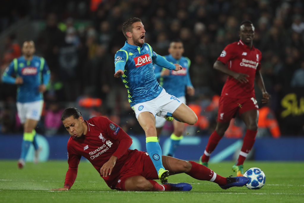 Liverpool fans troll Dries Mertens after Anfield comments spectacularly backfire