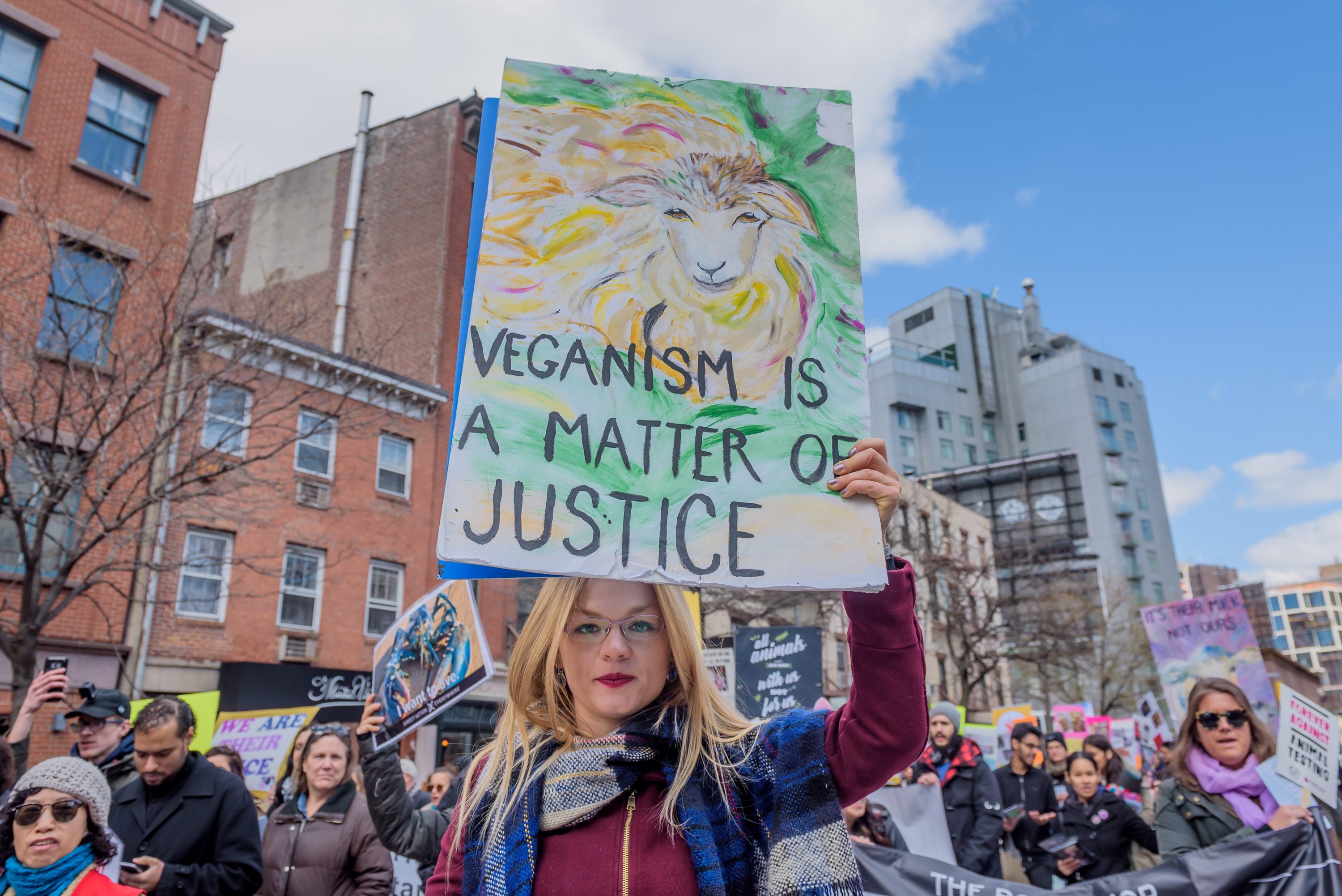 Like religion, veganism is a choice and should be a belief protected by law