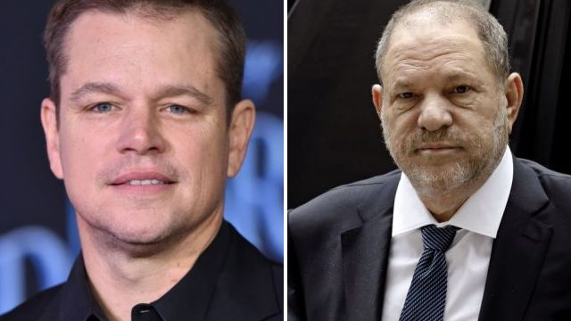 Matt Damon mocks Harvey Weinstein on SNL after coming under fire for 'defending' disgraced producer