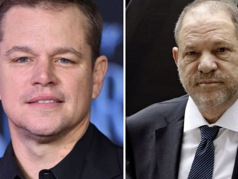 Matt Damon mocks Harvey Weinstein on SNL after coming under fire for 'defending' disgraced producer