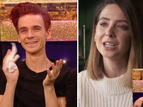 Joe Sugg breaks down in tears on Strictly's It Takes Two as sister Zoella and family send messages of support