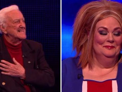 The Chase divides viewers as Bernard Cribbins jokes about taking Anne Hegerty 'up the flagpole'