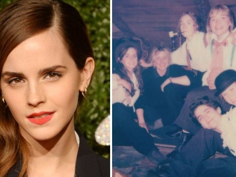 Emma Watson teases fans with behind the scenes snap from new Little Women movie