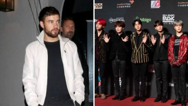 Liam Payne sends BTS Army into frenzy and he stans over