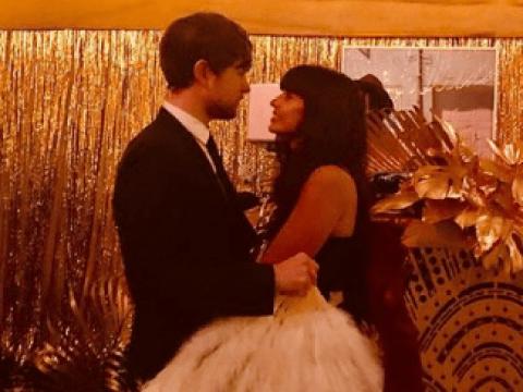 Jameela Jamil swoons over 'fine' boyfriend James Blake but shuts down wedding rumours