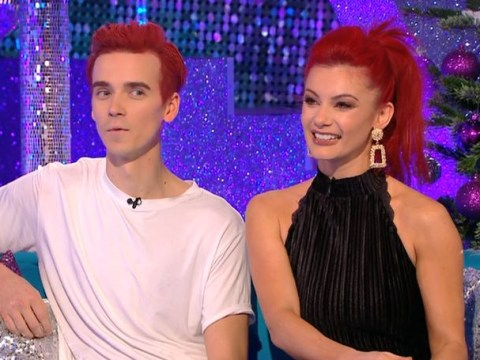 Strictly's Joe Sugg and Dianne Buswell get awkward as Zoe Ball asks if they'll kiss in the final