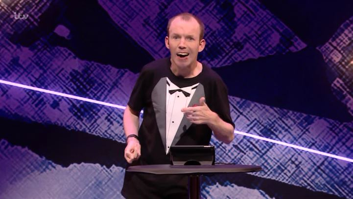 Lost Voice Guy praised by viewers as he wins over Prince Harry and Meghan Markle at Royal Variety Performance