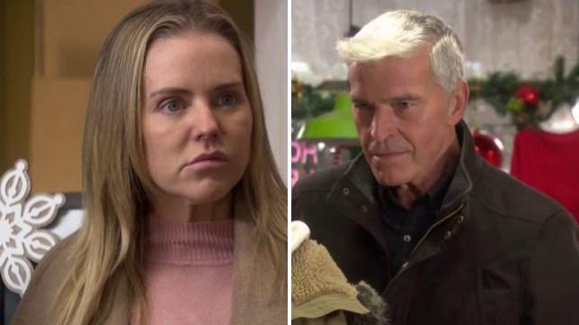 Mac plots against Cindy in Hollyoaks