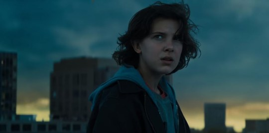Millie Bobby Brown is making her movie debut in Godzilla II (Picture: Warner Bros)