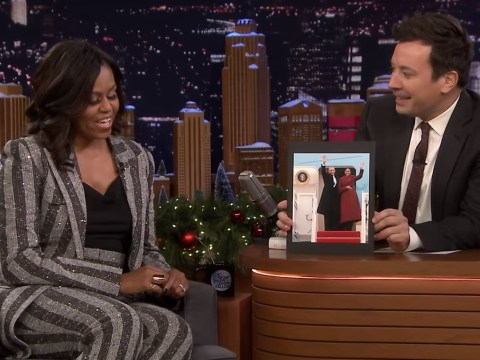 'Bye Felicia!' Michelle Obama tells Jimmy Fallon what she was really thinking on Trump's inauguration day