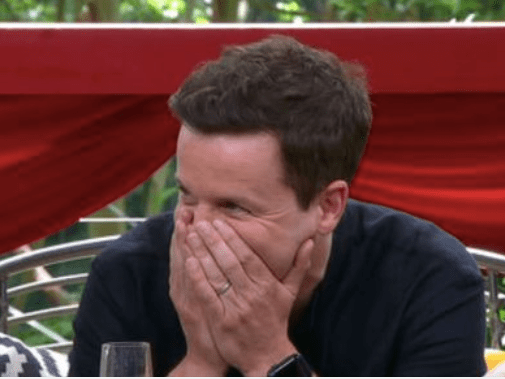 I'm A Celeb's Declan Donnelly makes a playful quip about his sex life on Extra Camp