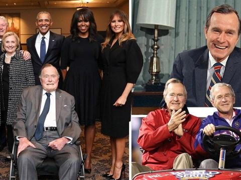 Former US President George Bush Snr dies aged 94