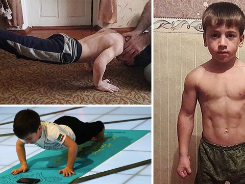 Boy, 5, 'does more than 3,000 consecutive press-ups to break record'