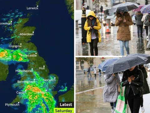 UK to be battered by rain and gales as winter officially starts
