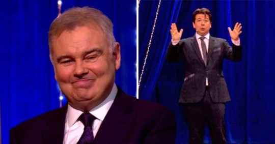 Eamonn Holmes has an app to deal with his prostate that's the size of Michael McIntyre's head